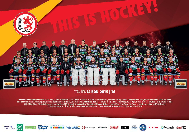 DEG Team Poster 2015/2016